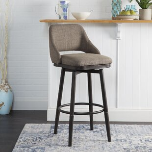 Nalston Adjustable Height Bar Stool Wrought Studio