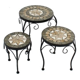 Cheap Price Ilkley 3 Pieces Nesting Plant Stand Set
