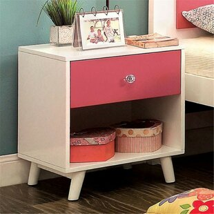 Read Reviews Dealba 1 Drawer Nightstand by Mack & Milo Reviews (2019) & Buyer's Guide