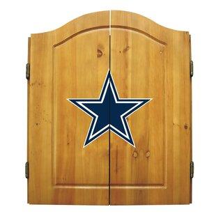 NFL Team Logo Complete Dart Cabinet Set ByImperial International