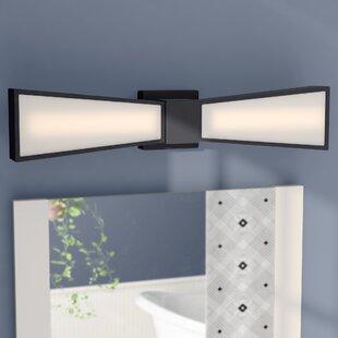 Staciee 2-Light LED Bath Bar by Latitude Run