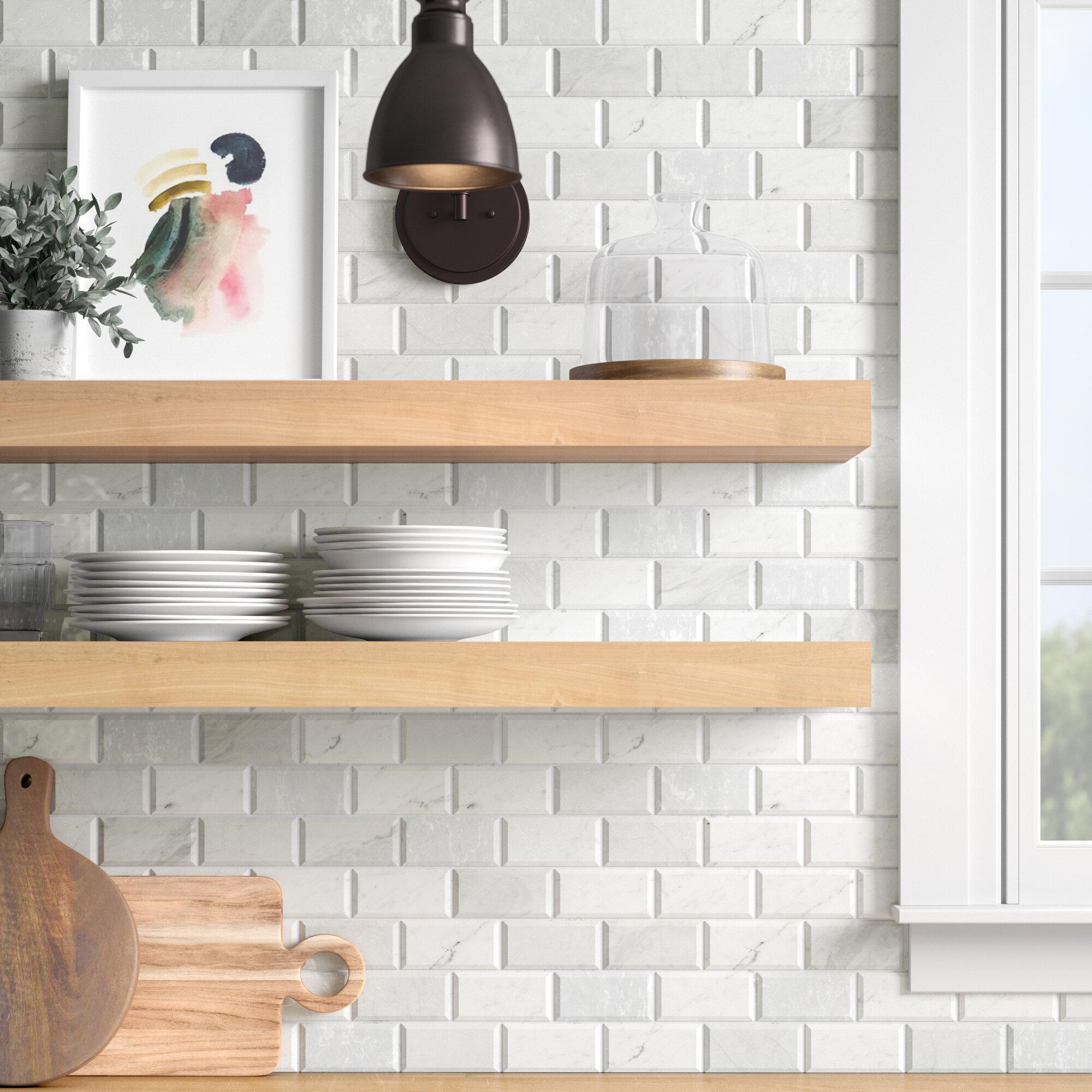 Brick Gray Floor Tiles Wall Tiles You Ll Love In 2021 Wayfair