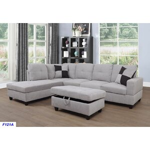 Russ Sectional  sc 1 st  Wayfair : beige leather sectional - Sectionals, Sofas & Couches