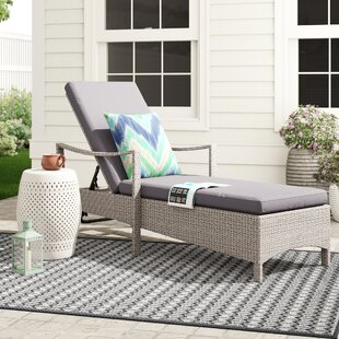 Sata Sun Lounger With Cushion Image