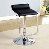Tabit Swivel Adjustable Height Bar Stool by Orren Ellis