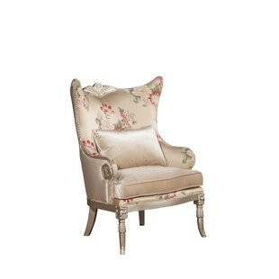 Versailles Wingback Chair by Benetti's Italia Amazing