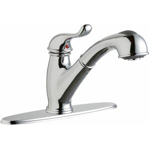 Elkay Everyday Single Handle Pull Out Kitchen Faucet