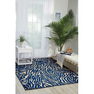 Gerdes Navy Indoor/Outdoor Area Rug