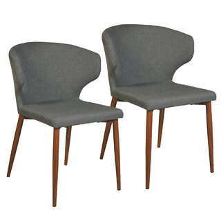 Alburgh Upholstered Dining Chair (Set of 2) by George Oliver SKU:DE415507 Details