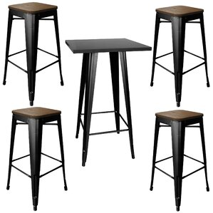 Morgan 5 Piece Pub Table Set