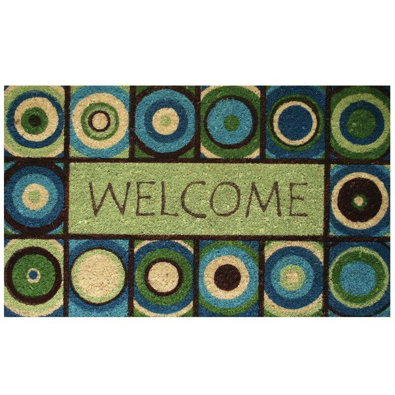 marvelous robert allen home and garden. Welcome Circles Doormat Robert Allen Home and Garden  Reviews