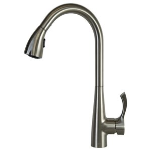 Spring Faucet Single Handle Pull Down Bar Faucet with Swing Spout