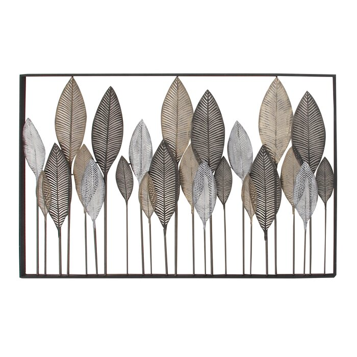 High Quality Metal Leaf Wall Décor