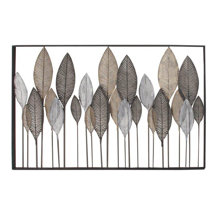 High Quality Metal Leaf Wall Décor