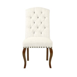 Crepeau Back Upholstered Dining Chair (Set of 2)