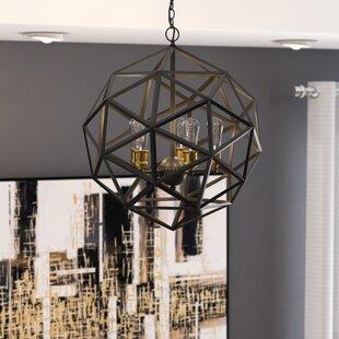 Severn Beach 5-Light Geometric Chandelier by Brayden Studio