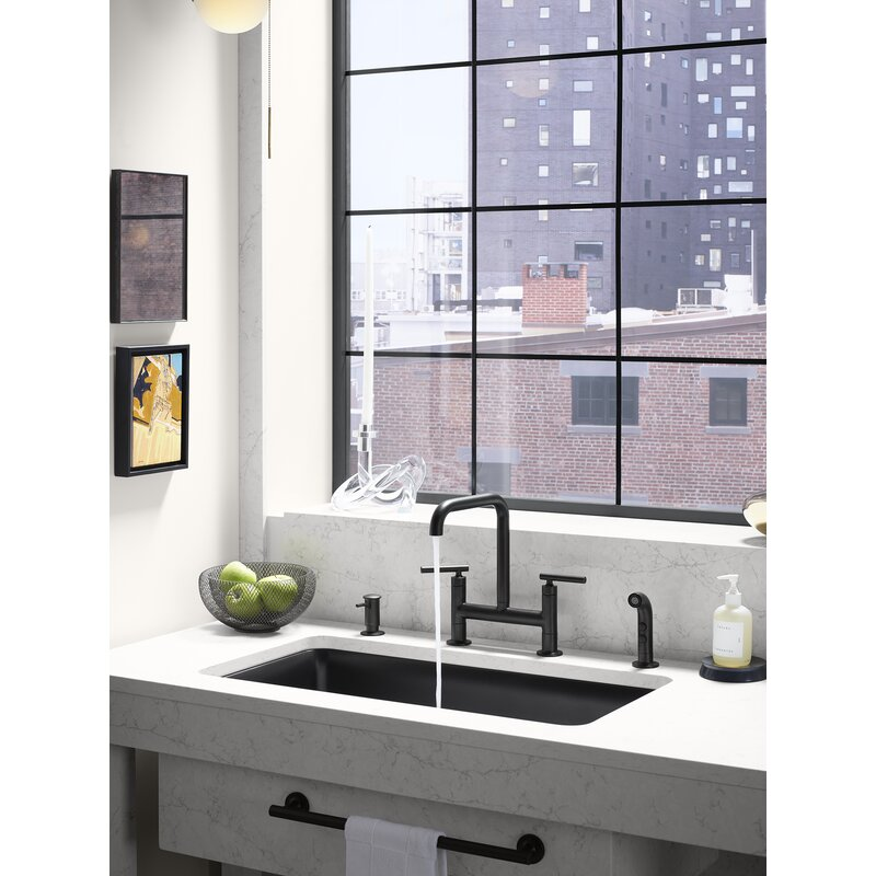 Purist Deck Mount Kitchen Sink Faucet