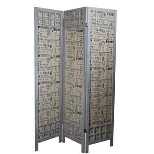 Paulownia 3 Panel Room Divider by Entrada