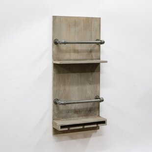 Launcest 6 Bottle Wall Mounted Wine Rack ..