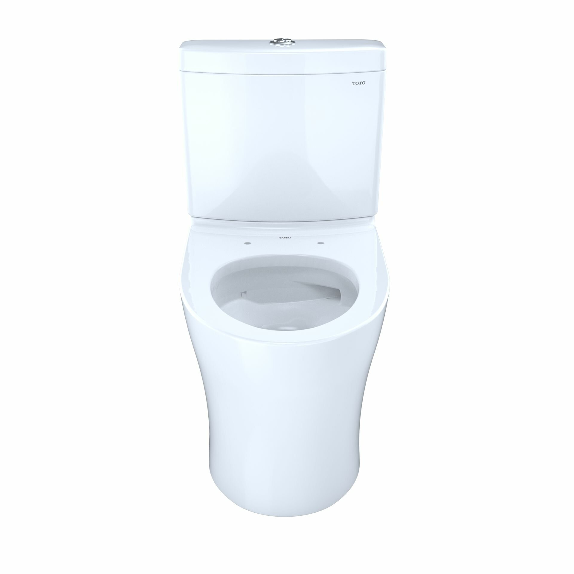 Toto Aquia® IV Dual-Flush Elongated Two-Piece Toilet with High ...
