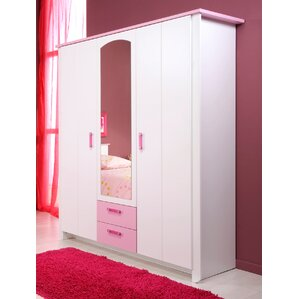 Maggie 2 Door Armoire with Mirror by Z..