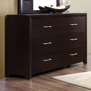 Edina 6 Drawer Double Dresser