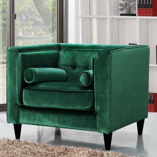 Roberta Velvet Club Chair