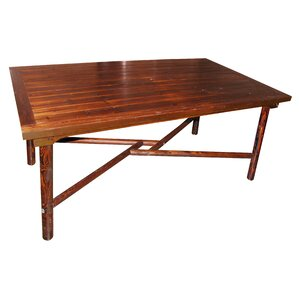 Char-Log Dining Table by Leigh Country