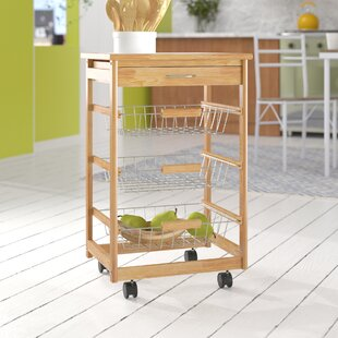 Philomena Kitchen Trolley With Tile Top By Belfry Kitchen