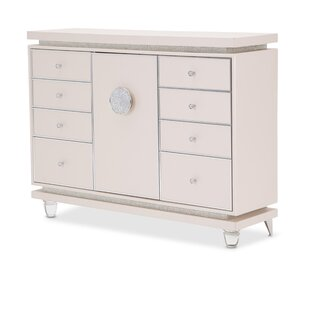 Glimmering Heights 8 Drawer Combo Dresser