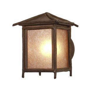 Worrell 1-Light Outdoor Sconce by Millwoo..