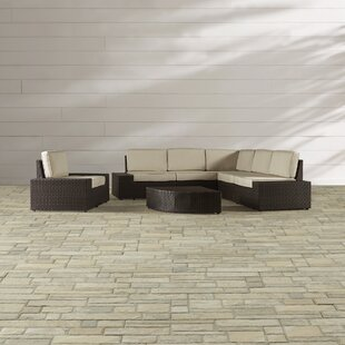 Woodall 7 Piece Sunbrella Sectional Set with Cushions by Brayden Studio