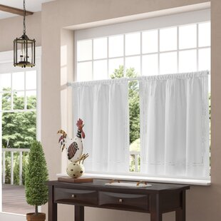 Window Valances Cafe Kitchen Curtains Youll Love