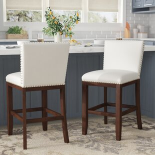 Bouwkamp 24 Bar Stool (Set of 2) Red Barrel Studio