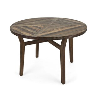Valerii Solid Wood Dining Table Union Rustic