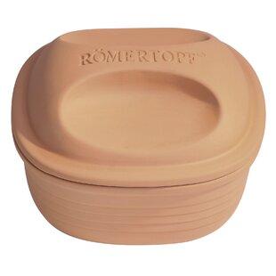 Romertopf 2-qt. Square Dutch Oven