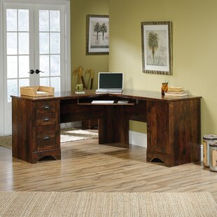Pinellas L-Shape Computer Desk by Beachcrest Home
