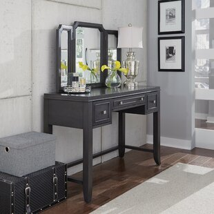 Gracie Oaks Calderdale Vanity with Mirror