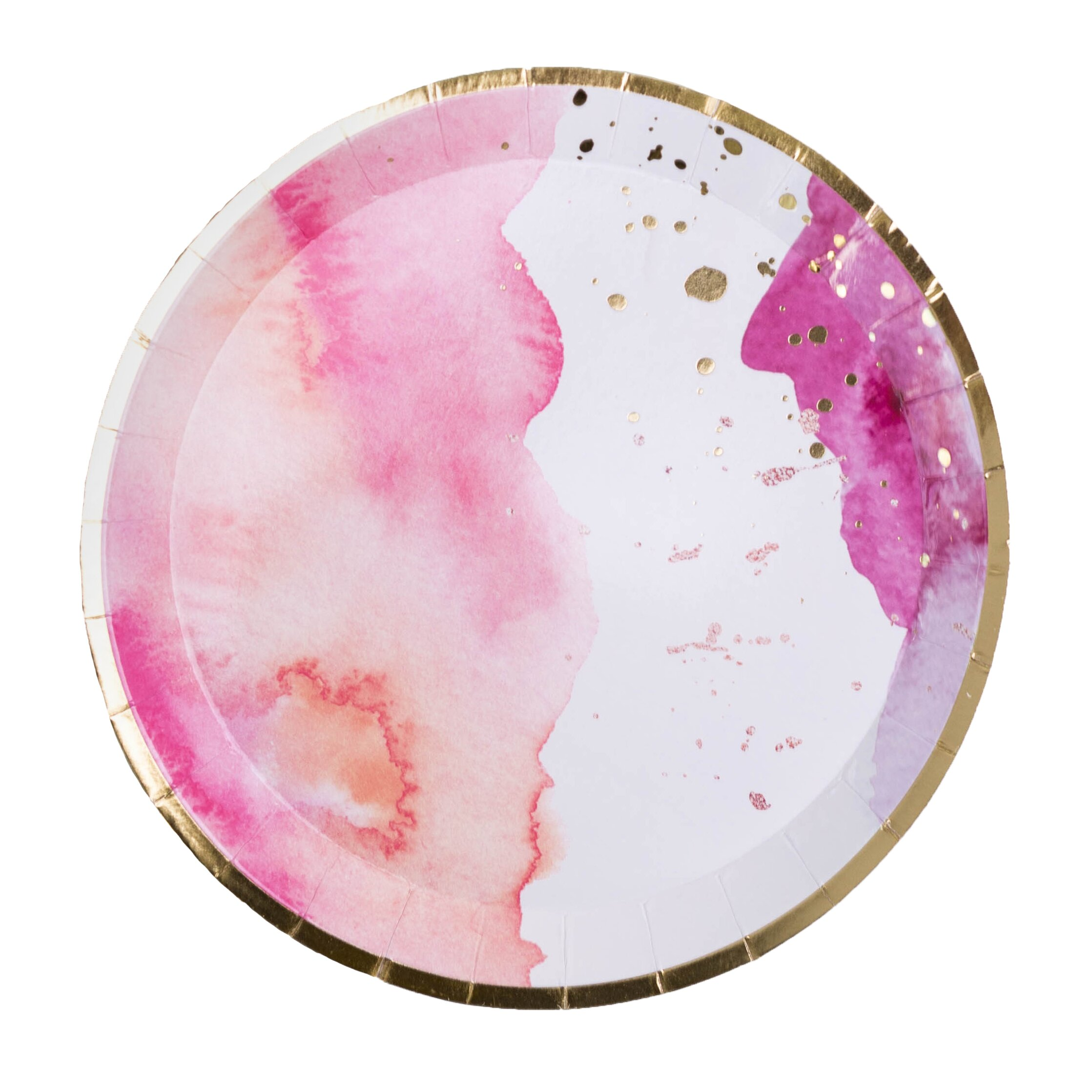 Jollity Co Party Boutique Pretty Heavy Weight Paper Disposable Dessert Plate Wayfair