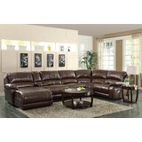 Shealey Right Hand Facing Reclining Sectional by Red Barrel Studio®