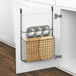 Spectrum Grid Over Cabinet Door Organizer