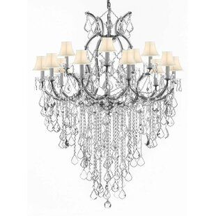 Astoria Grand Bellefonte 16-Light Shaded Chandelier