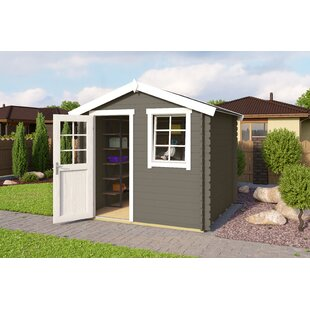 Benoit 9 X 8 Ft. Tongue & Groove Summer House By Sol 72 Outdoor
