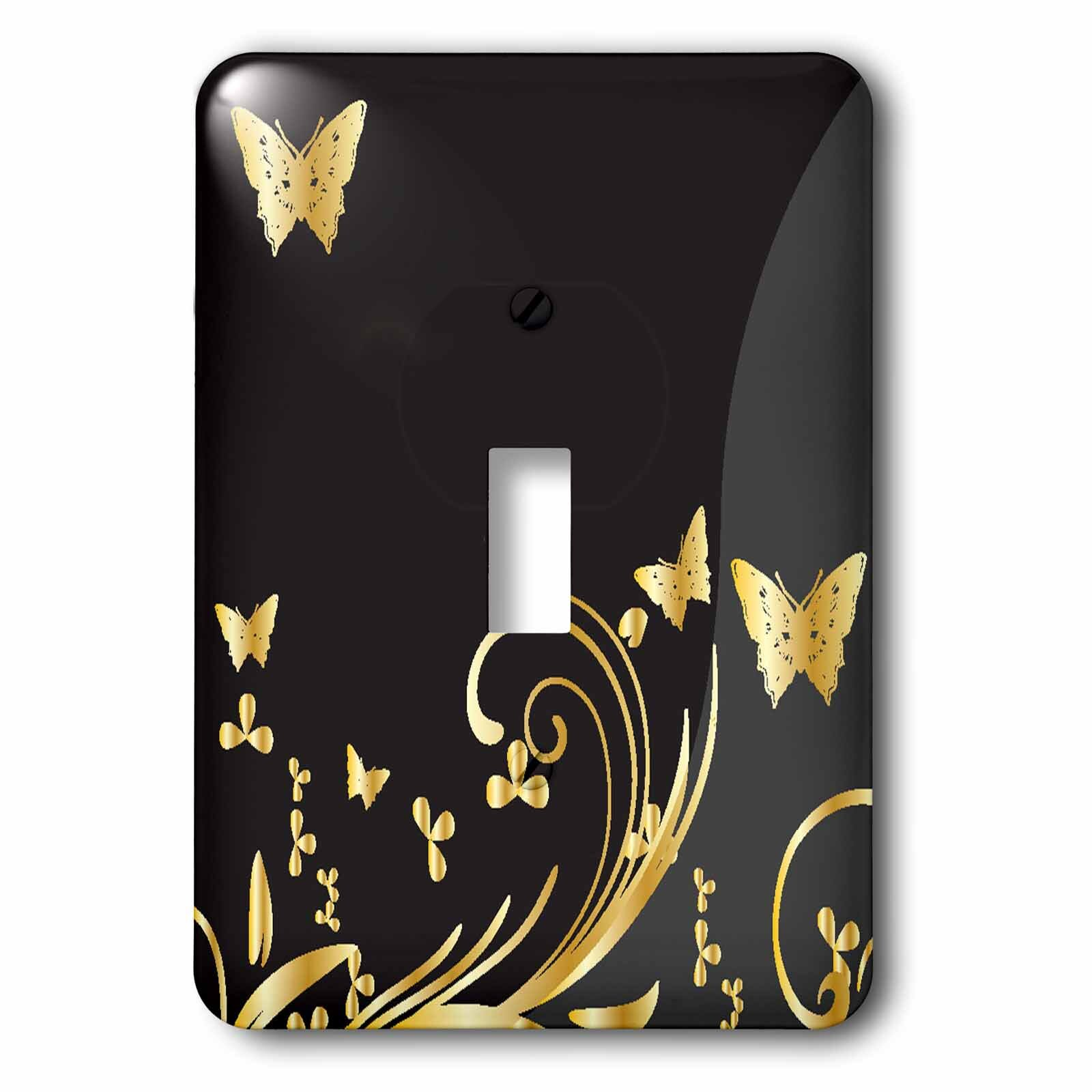 Gold Wildlife Switch Plates You Ll Love In 2021 Wayfair