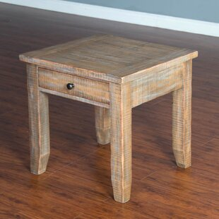 Hazeldell Driftwood End Table