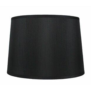 French 16 Silk/Shantung Drum Lamp Shade