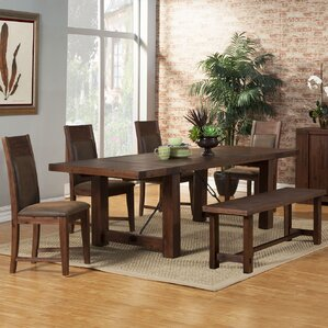 Piumafua 6 Piece Dining Set by Loon Peak