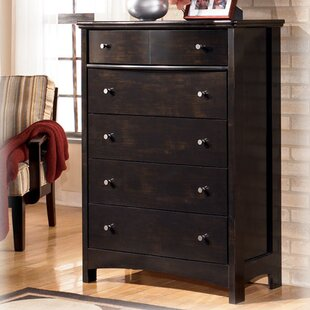 Cruise 5 Drawer Chest by Charlton Home