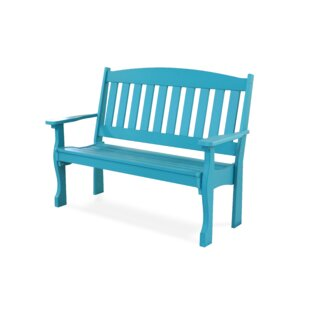 Ring Garden Bench by August Grove