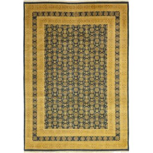 Searching for One-of-a-Kind Devan Hand-Knotted Wool Beige/Black Indoor Area Rug By Isabelline